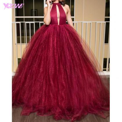 Red Prom Dresses,Ball Gown Prom Dre..