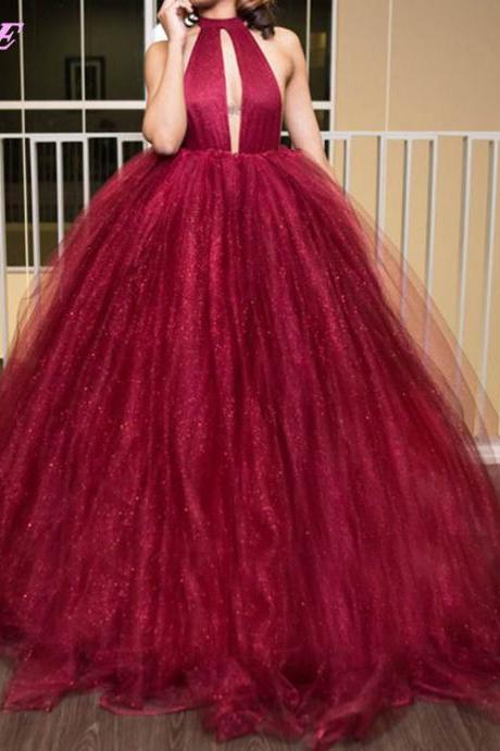 Red Prom Dresses,Ball Gown Prom Dresses,Backless Prom Dresses,Prom Gown,Fashion Dresses,Evening Gown,